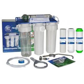 4-astmeline filtrikomplekt joogiveele